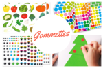 Gommettes, stickers