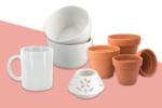 Supports en Céramique et Porcelaine