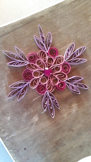 Quilling rose pastel - Quilling - 10doigts.fr