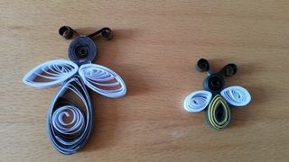 Quilling abeilles - Quilling - 10doigts.fr