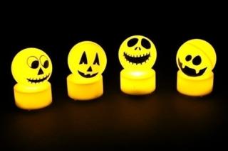 Monstres d'Halloween lumineux - Halloween - 10doigts.fr