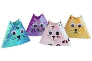 Origami chat - Activités enfantines - 10doigts.fr