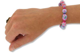 Bracelets fleuris - Bijoux - 10doigts.fr