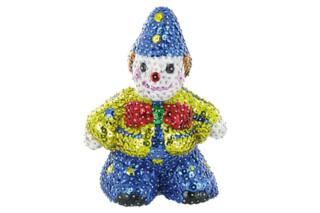 Clown à paillettes - Activités enfantines - 10doigts.fr