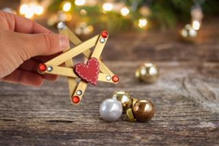 Etoiles de Noël - Noël - 10doigts.fr