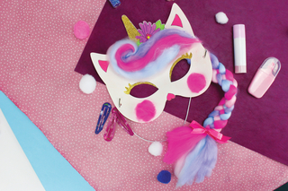 Masques Licorne - Carnaval, fêtes, masques - 10doigts.fr