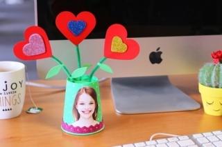 Pot de fleurs pour Maman - Fête des Mères - 10doigts.fr