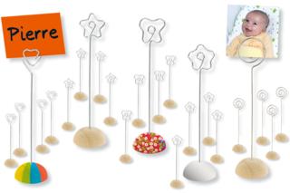 Set de 4 marque-places - Tables de fêtes - 10doigts.fr