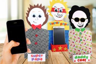 Support silhouette pour Smartphone - Fête des Mères - 10doigts.fr
