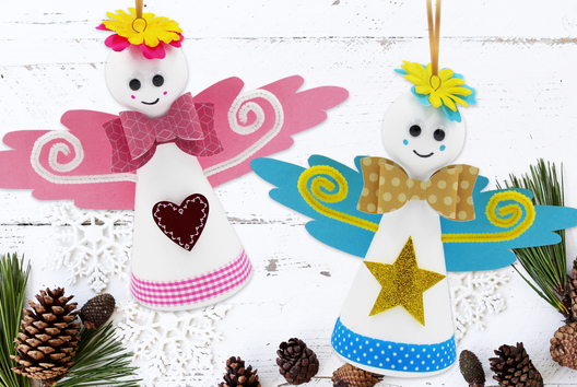 Anges de Noël - Noël - 10doigts.fr