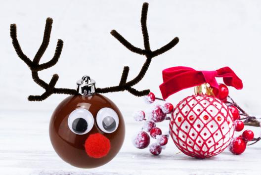 Boule de Noël Renne - Noël - 10doigts.fr