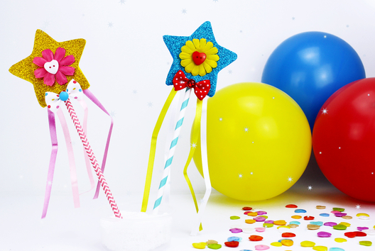 Baguette magique - Carnaval, fêtes, masques - 10doigts.fr