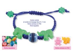 Shamballas... avec des perles bayadères et perles animaux