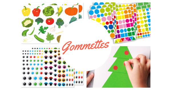 Gommettes Stickers Produits 10 Doigts