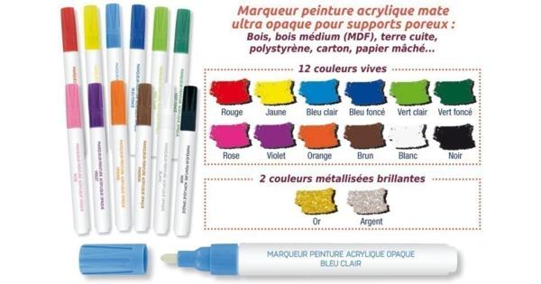 marqueurs peinture pour bois cartons terre cuite marqueurs 10 doigts. Black Bedroom Furniture Sets. Home Design Ideas