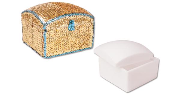 bo te carr e en polystyr ne divers 10 doigts. Black Bedroom Furniture Sets. Home Design Ideas