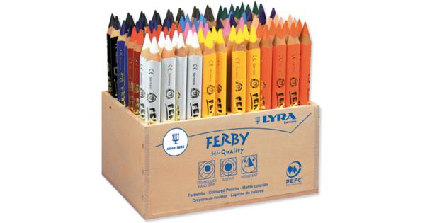 Couleur Assortis Lyra de Couleur g/éants Crayon