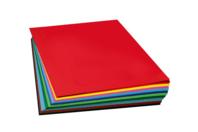 Papier uni  50 x 70 cm - 220 gr - Couleurs au choix - Ramettes de papiers - 10doigts.fr