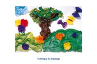 Set de 26 feuilles de papier Eclat, assorties parmi 13 couleurs - Technique du papier éclat - 10doigts.fr