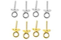 Set de 10 bélières pour perles - Accessoires - 10doigts.fr