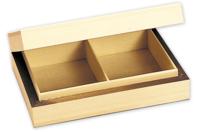 Boîte à cartes en bois - Boîtes et coffrets - 10doigts.fr