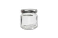 Pot en verre avec couvercle à visser - Petit modèle - Verre - 10doigts.fr