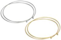 Collier tour de cou à bille, argenté ou doré - Colliers - 10doigts.fr
