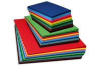 Papier uni grainé 220 gr - 10 couleurs assorties - Ramettes de papiers - 10doigts.fr
