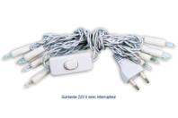 Guirlande circulaire avec interrupteur - 10 ampoules - Guirlandes - 10doigts.fr