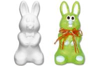 Lapin en polystyrène 25 cm - Formes de fêtes - 10doigts.fr