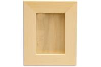 Cadre photo en bois avec vitre - Cadres photos - 10doigts.fr