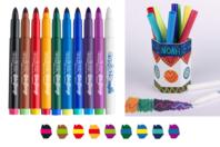 Feutres magiques Bicolores - 10 feutres - Feutres Fantaisie - 10doigts.fr