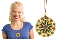 Colliers Mandala - Kit pour 6 réalisations - Kits bijoux - 10doigts.fr