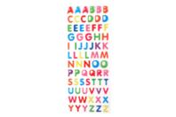 Stickers alphabet en epoxy - Gommettes Alphabet, messages - 10doigts.fr