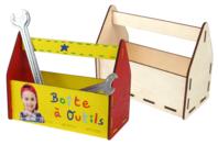 Boîte à outils vide-poche - Boîtes et coffrets - 10doigts.fr
