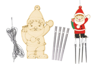 Kit carillon Père Noël - Carillons et Mobiles - 10doigts.fr