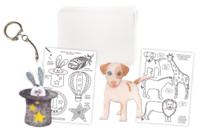Plastique magique translucide + 30 dessins à décalquer - Plastique magique, fou ou dingue... - 10doigts.fr