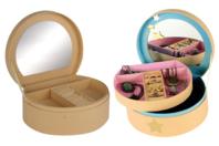 Boîte à bijoux en carton - Rangements - 10doigts.fr