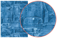 Décopatch N° 381 - Set de 3 feuilles - Papier à vernis-coller - 10doigts.fr
