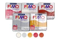 FIMO : Kit de 5 couleurs métallisées + CADEAU - Les kits Fimo - 10doigts.fr