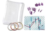 Plaque de travail du fil métallique - Fils aluminium - 10doigts.fr