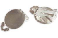 Clips d'oreille argentés - Lot de 4 - Boucles et pendentifs d'oreilles - 10doigts.fr