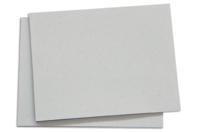 Panneau en carton gris épais - Plaques et panneaux - 10doigts.fr
