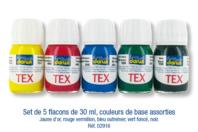 Peinture Textiles - DESTOCKAGE - 10doigts.fr