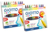 Crayons-cire Giotto - Boite de 12 ou 24 - Crayons cire - 10doigts.fr