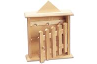 Armoire à clés en bois - Armoires et étagères - 10doigts.fr