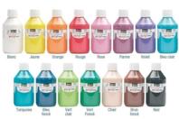 Peinture acrylique opaque 80 ou 250 ml - Acryliques scolaire - 10doigts.fr