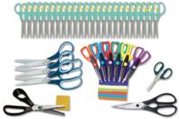 Atelier Découpage pour les Petits : 36 ciseaux assortis - Ciseaux, ciseaux cranteurs - 10doigts.fr