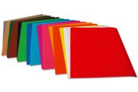 Feuilles de carton ondulé - 10 couleurs assorties - Carton ondulé - 10doigts.fr