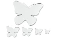 Miroirs adhésifs papillons - 8 pièces - Miroirs - 10doigts.fr